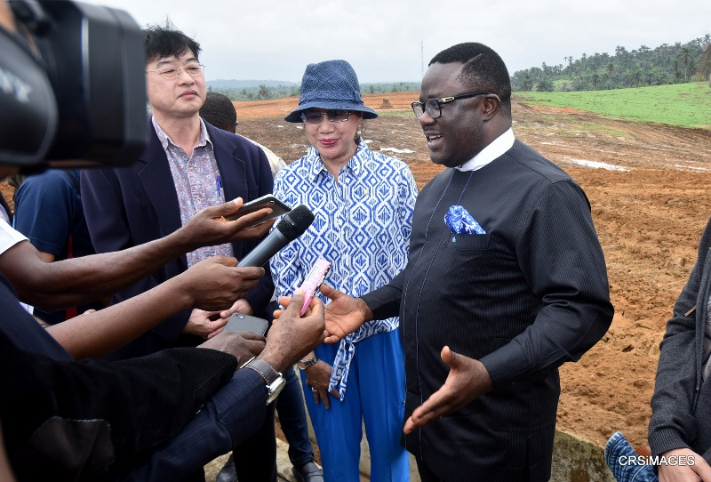 Thai rice investors in calabar with Governor Ben Ayade